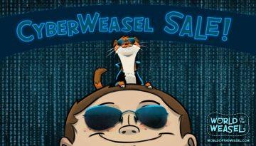 CyberWeasel sale image 2017