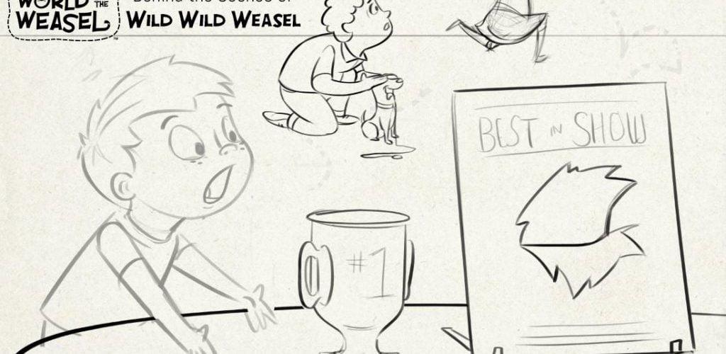 WILD line sketch in progress 11-08-17 WoW stamped