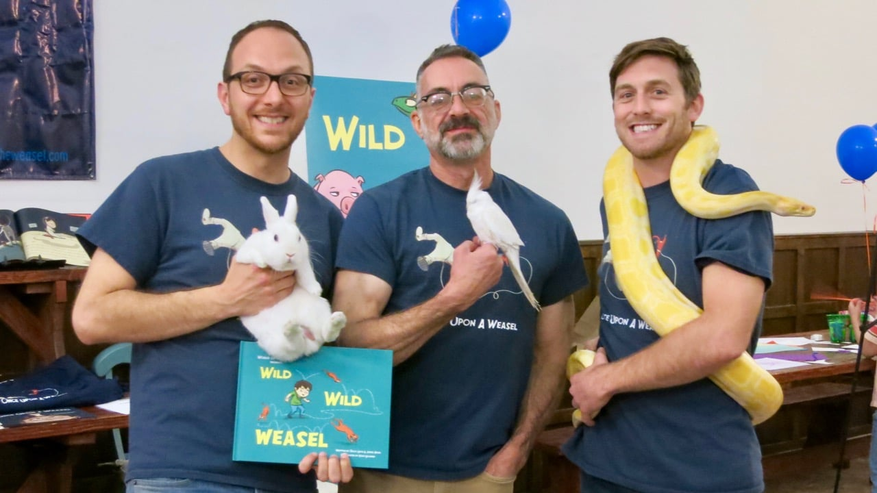 WILD WILD WEASEL launch party Salvo James Dave