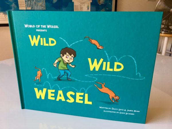 WILD WILD WEASEL hardcover front cover