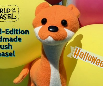 Plush weasel 25 dollar sale