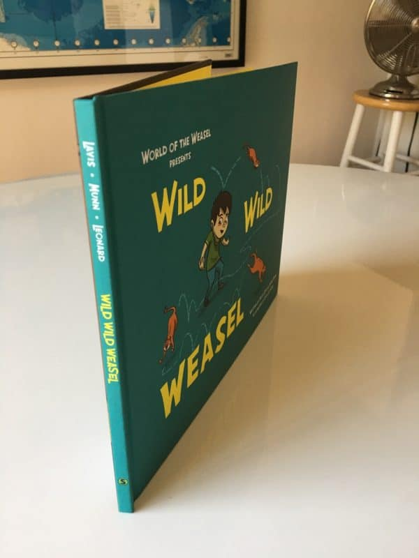 WILD WILD WEASEL hardcover side angle