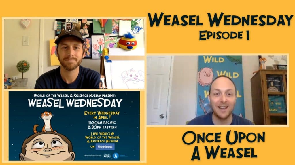 Weasel Wednesday episode 1 thumbnail - Once Upon a Weasel