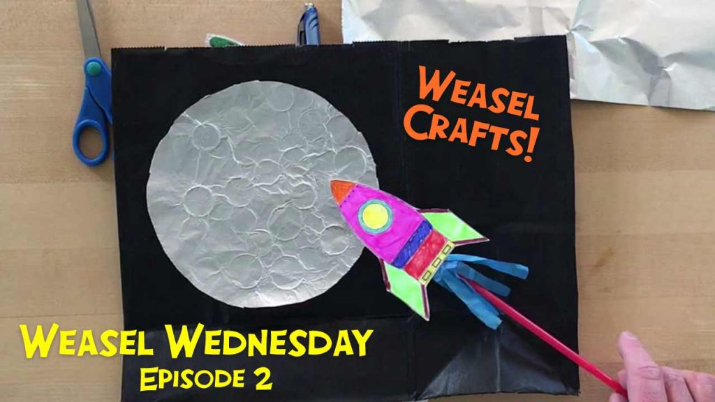 Weasel Wednesday episode 2 thumbnail - crafts